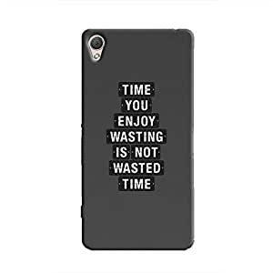 Cover It Up - Not Wasted Time Xperia M4 Hard Case