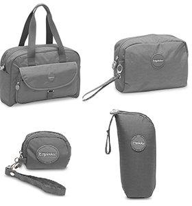 Pirulos 48731230  - Pack de 5 piezas, color gris