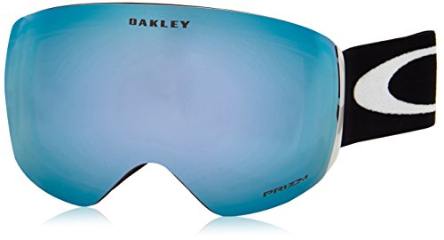 Oakley OO7050-20 Flight Deck Eyewear, Matte Black, Prizm Sapphire Iridium - Oakley Black Matte