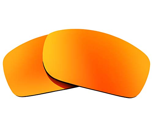 Replacement Lenses Compatible with OAKLEY Fives Squared Polarized Red ()