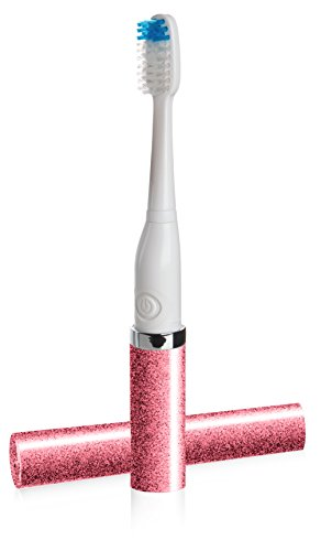 Violight Violife VST2T710 Slim Sonic Series Electric Toothbrush, Strawberry Shimmer Style, 2.4 Ounce (Pro Strawberry Series)