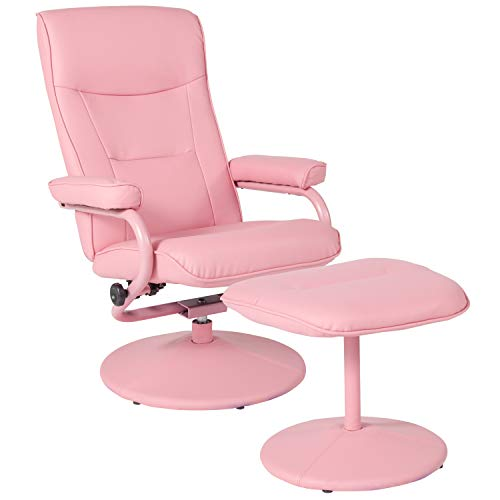 Flash Furniture Recliners, Pink Vinyl