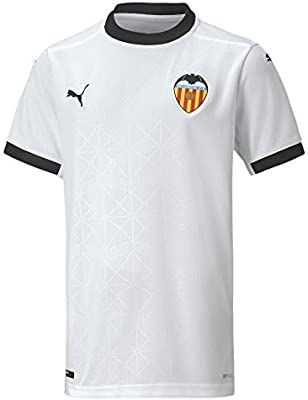 PUMA Vcf Home Shirt Replica Jr Camiseta, Unisex niños, White Black, 128: Amazon.es: Deportes y aire libre