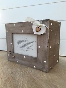 shabby chic personalised ltd - Caja de álbum de fotos (madera, para
