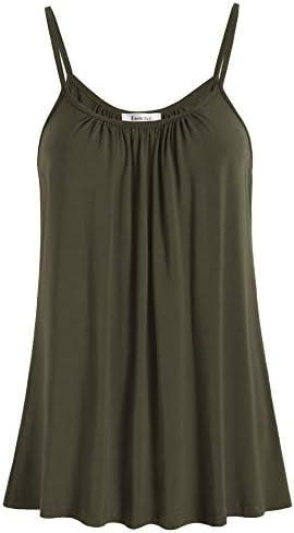 Esenchel Women's Loose Cami Tank Top Casual Camisole