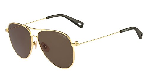 G-star Raw Accessories (G-Star Raw GS104S Aviator Sunglasses, Gold, 58 mm)