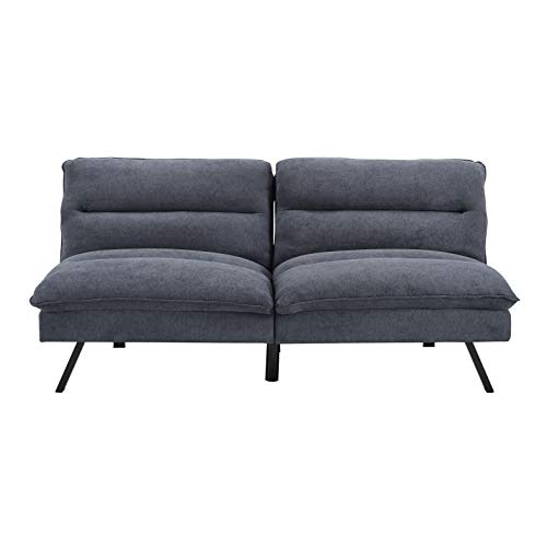 Amazon.com: Sofas 2 Go Manhattan Convertible Sofa One Size ...