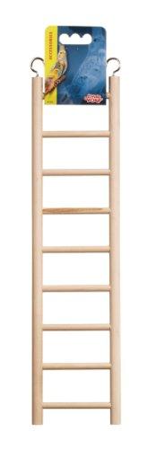Hagen Living World Wooden Ladder, 9 Step, My Pet Supplies