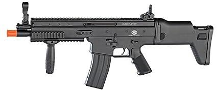amazon com soft air fn scar l airsoft gun sports outdoors