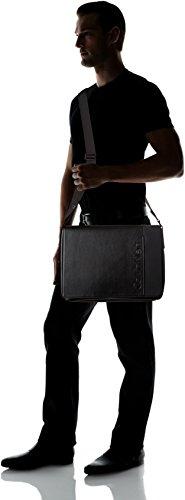 H x Shoppers Calvin With cm Elevated 13x26x37 Klein Logo hombro Messenger Negro Flap bolsos y T Black de B Hombre rYqT1YUwx
