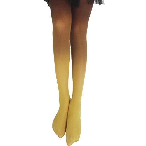 Socks, FORUU Vintage Gradual Gradient Change Tights Stockings Women Girls Pantyhose Fashion