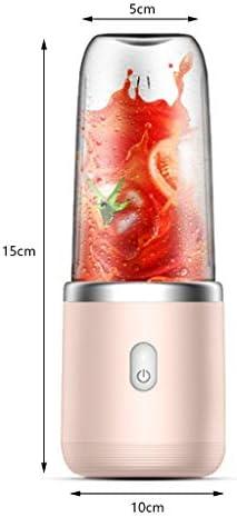 QFF USB Portable Blender Juicer sans Fil Mini Petit Ménage Processeur Portable Juicer Fruit 400ML