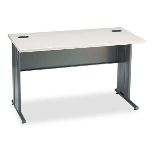 Hon 66000 Stationmaster Series Desk (HON 66557G2S 48 by 24 by 29-1/2-Inch The Stationmaster Computer Desk, Gray Pattern)