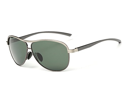 Heartisan Men's Aviator Full Frame Polarized Sunglasses UV Protection - Aviator Tortoise Ray Bans Shell