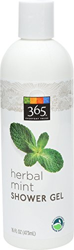 365 Everyday Value, Herbal Mint Shower Gel, 16 Ounce