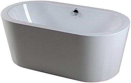 """FerdY 59"""" Acrylic Freestanding Bathtub"""