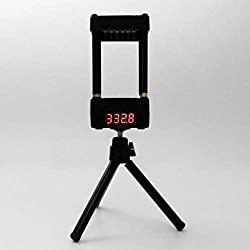 Cher9 Muzzle Speed Meter Velocimetry Velocity Anemometer Valence Tester with Tripod