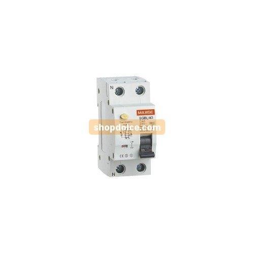 maxage Interruptor diferencial (5SV3344 1P + N 25 A 30 mA de marco sgblc0030