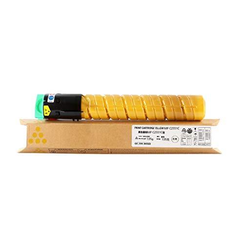 MALPYQA Compatible with RICOH MPC2031 Toner Cartridge MPC2031 2051 2501 2531 2551 Digital Copier Toner Cartridge for RICOH AFICIO,Yellow ()