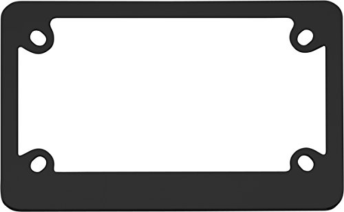 (Cruiser Accessories 77350 MC Neo Classic Motorcycle License Plate Frame, Black)