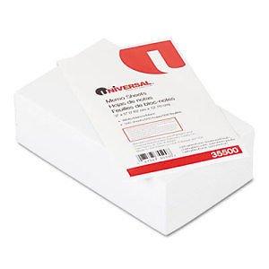 Universal Loose Memo Sheets - UNV35500_3 - 3 Item Bundle supplier:shoplet by instrainclug