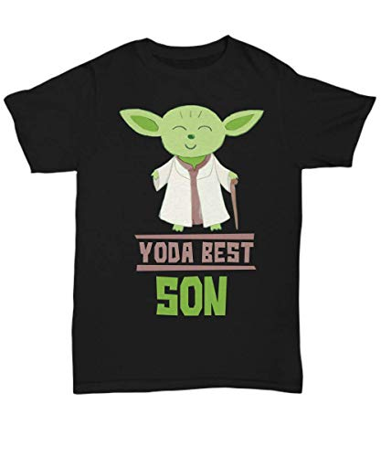 Gift Sons - Yoda Best Son T-Shirt - Star Wars Funny Shirt Present - Unisex -