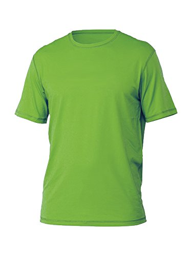 Mens Short Sleeve ( SS ) Snug Fitting Rash Guard, Swimming Shirt, UV Protection 50+