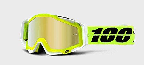 100% - Masque 100% Racecraft Solar Ecran Miroir Or Gelb