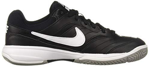 NIKE Men's Court Lite Athletic Shoe, Black/White/Medium Grey, 8.5 Regular US by Nike (Image #7)
