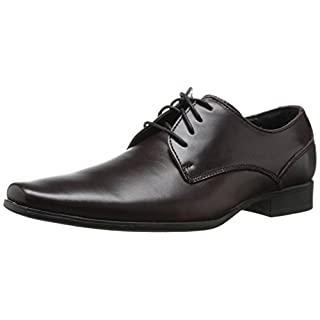 Calvin Klein Men's Brodie Oxford Shoe Fashion Sneaker, Oxblood, 9.5 M US