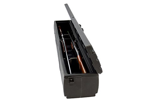 DU-HA Behind-the-Seat Storage Fits 09-14 Ford F-150 Regular Cab, includes lockable lid, Black, Part #70201