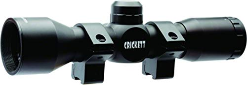 Keystone KSA054 Riflescope, 4x32mm, Mil-Dot, Matte, 1-Inch Tube