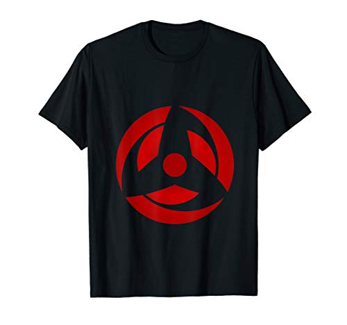 (Obito mangekyou sharingan eye design Sasuke T shirt)