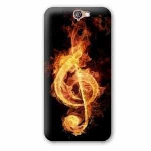 Amazon.com: Case Carcasa HTC One A9 Musique - - clé sol feu ...