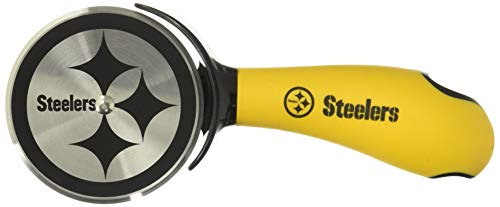 - Sports Vault NFL Pittsburgh Steelers Pizza Cutter