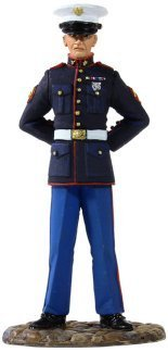 W. Britain 13001 - US Marine in Dress Blue