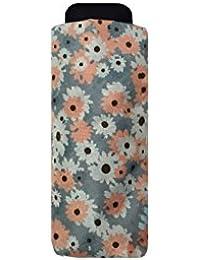 Mini Umbrella - City Folding pocket size 17cm - 6 Ribs in alumium and fiberglass -