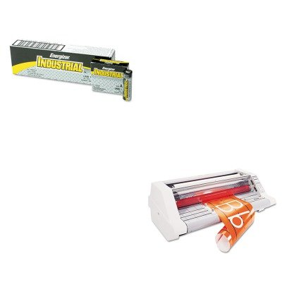 KITEVEEN91GBC1710740 - Value Kit - GBC HeatSeal Ultima 65 Laminating System (GBC1710740) and Energizer Industrial Alkaline Batteries (EVEEN91) Gbc Ultima 65 Laminator