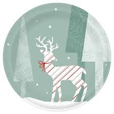 Dixie® Ultra Holiday Disposable Paper Plates - 10'' - 22ct