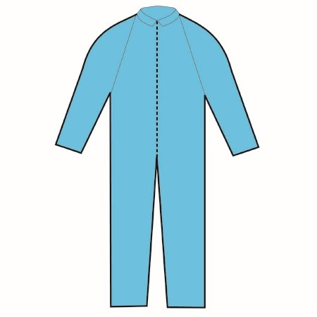 Halyard Coverall - 75651CS - 24 Each / Case
