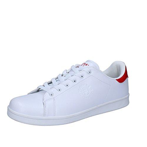 Bianco Rosso 45 Sneakers Pelle Sintetica Fashion Uomo EU CARRERAs pqAn7Xq