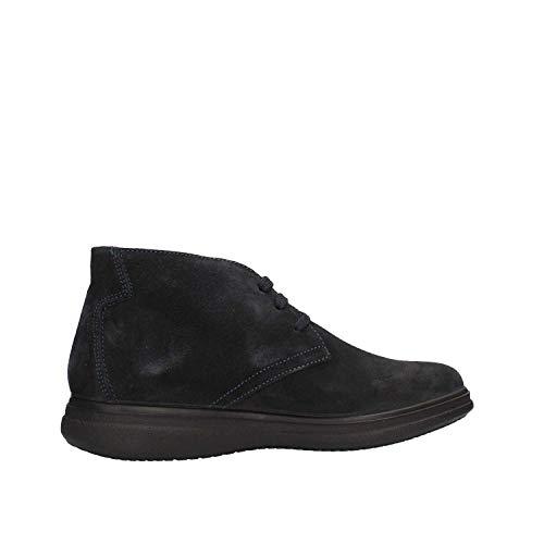 amp;CO Collo Alto Blu Uomo a Utu Sneaker IGI 4vIdOq4