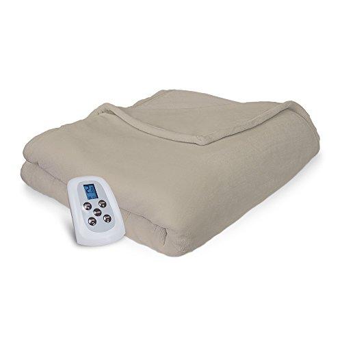Serta | Comfort Plush Electric Heated Blanket with Programma