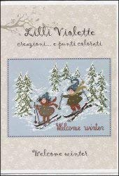 Welcome Winter Cross Stitch Chart and Free Embellishment