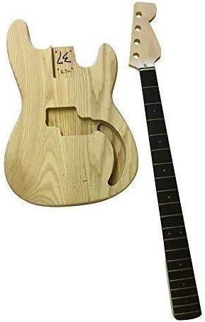 GD108 Eléctrica bajo Pb Hazlo Tú Mismo Guitarra Kit Cuerpo de ...