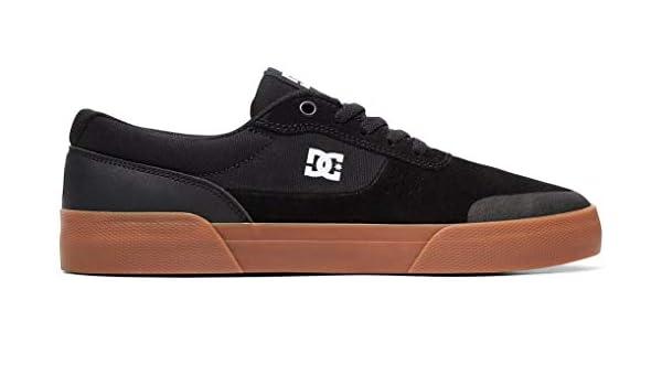 8b3313d606 Amazon.com: DC Shoes Switch Plus S Shoe - Men's Skateboarding Black/Gum:  Clothing