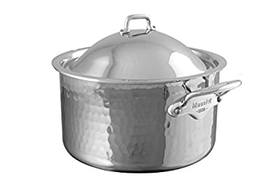 Mauviel 5275.17 M'Elite Cocotte with Dome Lid, 6.3, Stainless