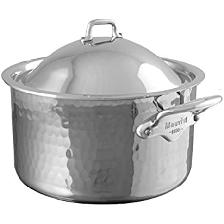 Mauviel 5275 21 M Elite Cocotte With Dome Lid 7 9 Stainless