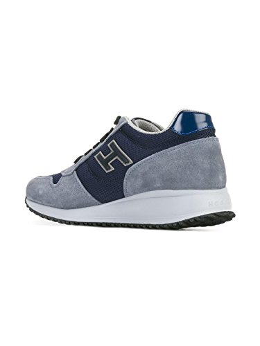 Hogan Sneakers Uomo Hxm2460v580c48873q Camoscio Blu