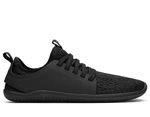 vivobarefoot Kanna, Womens Everyday Trainer, with Barefoot Sole Black